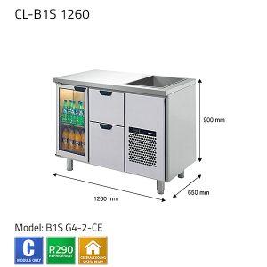 KYLBÄNK: CL-B1S 1260 - PORKKA