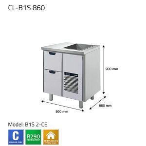 KYLBÄNK: CL-B1S 860 - PORKKA