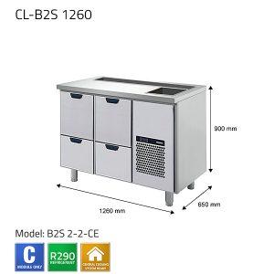 KYLBÄNK: CL-B2S 1260 - PORKKA