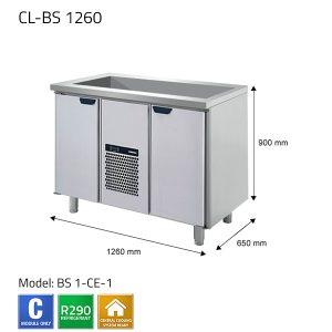 KYLBÄNK: CL-BS 1260 - PORKKA