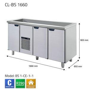 KYLBÄNK: CL-BS 1660 - PORKKA
