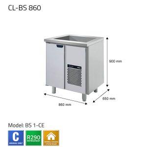 KYLBÄNK: CL-BS 860 - PORKKA