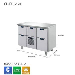 KYLBÄNK: CL-D 1260 - PORKKA