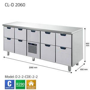 KYLBÄNK: CL-D 2060 - PORKKA