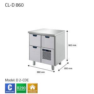 KYLBÄNK: CL-D 860 - PORKKA